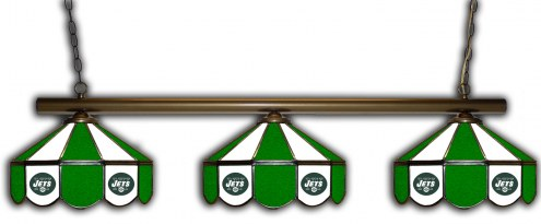 New York Jets 3 Shade Pool Table Light