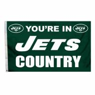 New York Jets 3' x 5' Country Flag