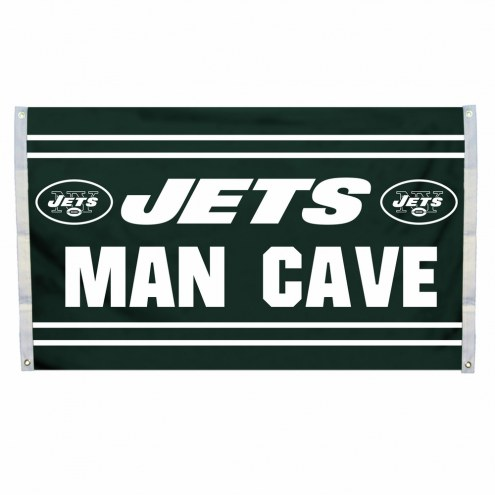 New York Jets 3' x 5' Man Cave Flag