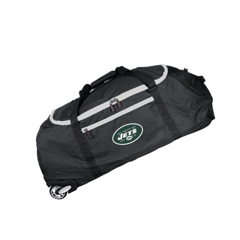 """New York Jets 36"""" Checked-in Wheeled Duffel"""