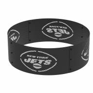"""New York Jets 36"""" Round Steel Fire Ring"""