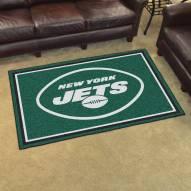 New York Jets 4' x 6' Area Rug