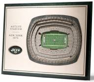 New York Jets 5-Layer StadiumViews 3D Wall Art