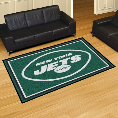 New York Jets 5' x 8' Area Rug
