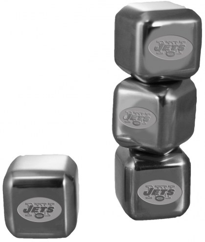 New York Jets 6 Pack Stainless Steel Ice Cube Set