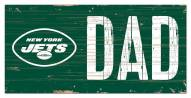"New York Jets 6"" x 12"" Dad Sign"
