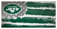 "New York Jets 6"" x 12"" Flag Sign"