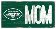 "New York Jets 6"" x 12"" Mom Sign"
