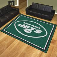 New York Jets 8' x 10' Area Rug