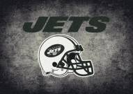 New York Jets 8' x 11' NFL Distressed Area Rug