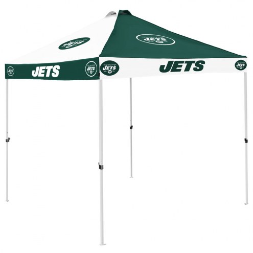 New York Jets 9' x 9' Checkerboard Tailgate Canopy Tent