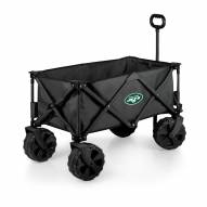 New York Jets Adventure Wagon with All-Terrain Wheels