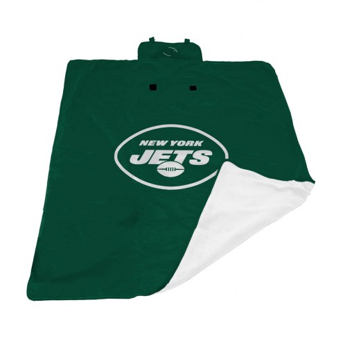New York Jets All Weather Outdoor Blanket