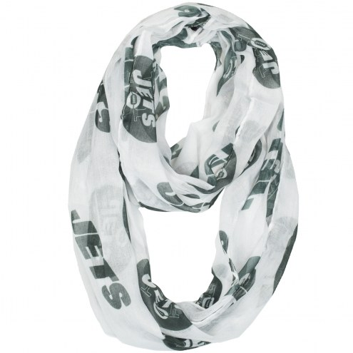 New York Jets Alternate Sheer Infinity Scarf
