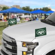 New York Jets Ambassador Car Flags