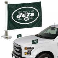 New York Jets Ambassador Hood & Trunk Car Flag