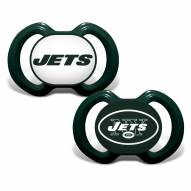 New York Jets Baby Pacifier 2-Pack