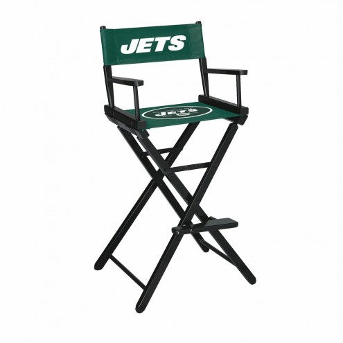 New York Jets Bar Height Director's Chair
