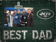 New York Jets Best Dad Clip Frame