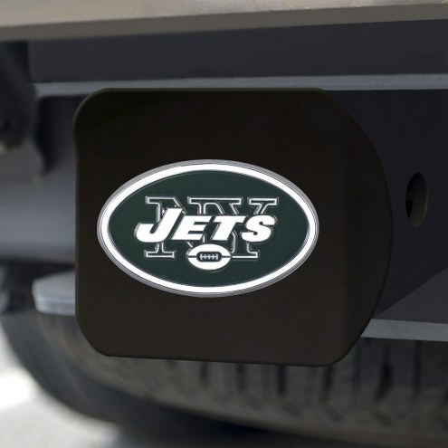 New York Jets Black Color Hitch Cover