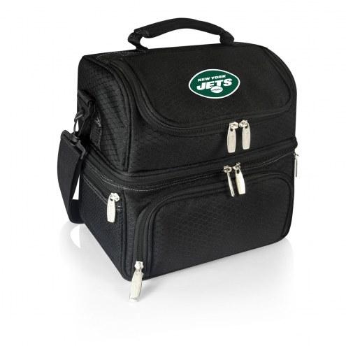 New York Jets Black Pranzo Insulated Lunch Box