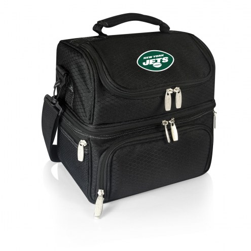 New York Jets Black Pranzo Insulated Lunch Box