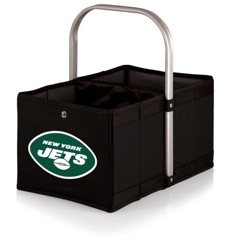 New York Jets Black Urban Picnic Basket