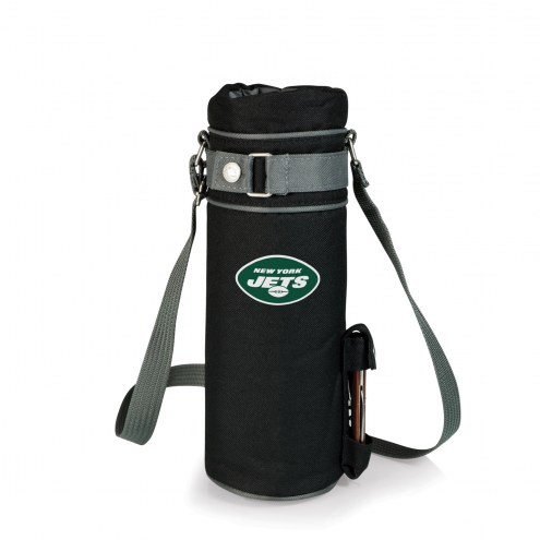 New York Jets Black Wine Sack