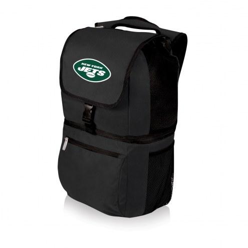 New York Jets Black Zuma Cooler Backpack