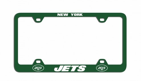 New York Jets Metal License Plate Frame