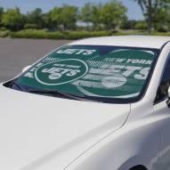 New York Jets Car Sun Shade