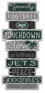 New York Jets Celebrations Stack Sign