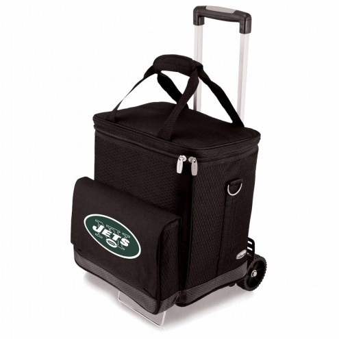 New York Jets Cellar Cooler with Trolley