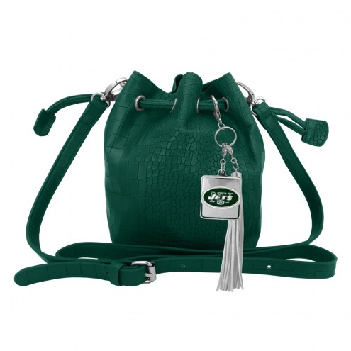 New York Jets Charming Mini Bucket Bag