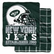 New York Jets Cloud Throw Blanket