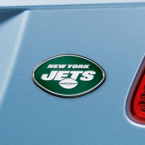 New York Jets Color Car Emblem