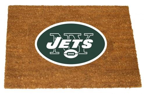 New York Jets Colored Logo Door Mat