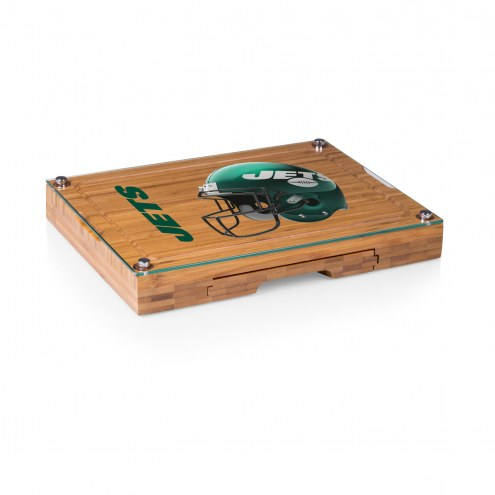 New York Jets Concerto Bamboo Cutting Board