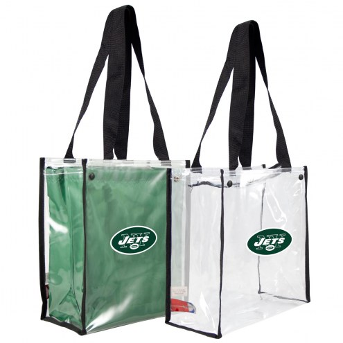 New York Jets Convertible Clear Tote