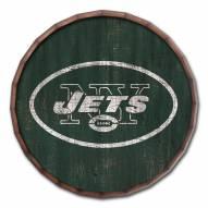 "New York Jets Cracked Color 16"" Barrel Top"