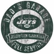 New York Jets Dad's Garage Sign