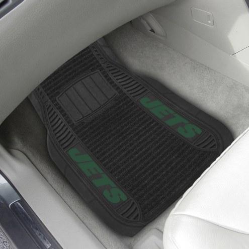 New York Jets Deluxe Car Floor Mat Set