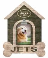 New York Jets Dog Bone House Clip Frame