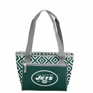 New York Jets Double Diamond Cooler Tote