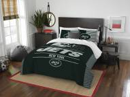 New York Jets Draft Full/Queen Comforter Set