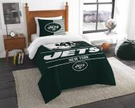 New York Jets Draft Twin Comforter Set