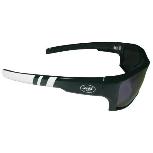 New York Jets Edge Wrap Sunglasses