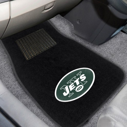 New York Jets Embroidered Car Mats