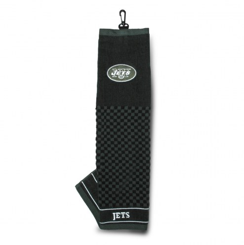 New York Jets Embroidered Golf Towel