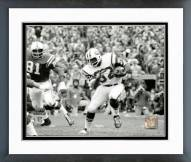 New York Jets Emerson Boozer Super Bowl III 1969 Action Framed Photo